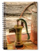 Suction Water Pump Spiral Notebook