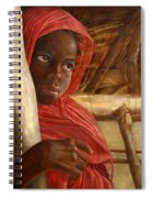 Sudanese Girl Spiral Notebook