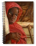 Sudanese Girl Spiral Notebook