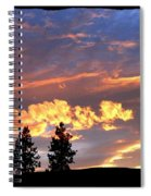 Sudden Splendor Spiral Notebook