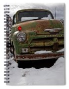 Suffering The Snow Spiral Notebook