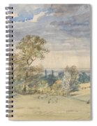 Suffolk Landscape Spiral Notebook