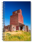 Suffolk Red Spiral Notebook