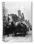 Suffrage Parade, 1913 Spiral Notebook
