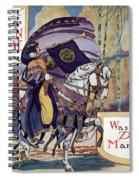 Suffragette Parade, 1913 Spiral Notebook