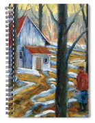 Sugar Bush Spiral Notebook