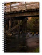 Sugar River Trestle Wisconsin Spiral Notebook