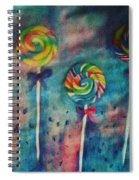 Sugar Rush  Spiral Notebook
