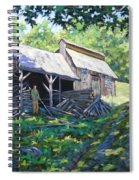 Sugar Shack In July Spiral Notebook