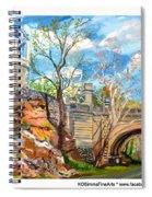 Sugarbowl On The Brandywine Spiral Notebook