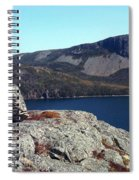 Sugarloaf Hill From The Lookout  Spiral Notebook