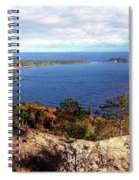 Sugarloaf Mountain In Autumn Spiral Notebook