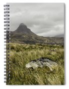 Suilven Mountain Spiral Notebook