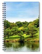 Suizenji Lake Spiral Notebook