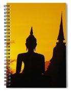 Sukhothai Temple Spiral Notebook