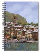 Sul Lago Di Como Spiral Notebook