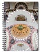 Suleymaniye Mosque Ceiling Spiral Notebook