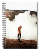 Sulfur Clouds Spiral Notebook