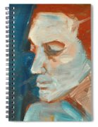 Sullen Spiral Notebook