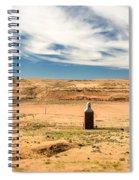 Sulphur Grain Elevators Spiral Notebook