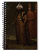 Sultan Ahmed IIi, Jean Baptiste Vanmour, C. 1727 - C. 1730 Spiral Notebook