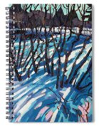 Sumac Snow Shadows Spiral Notebook