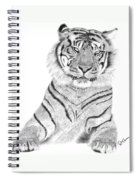 Sumatran Tiger Spiral Notebook