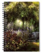 Summer - Landscape - Eve's Garden Spiral Notebook