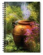Summer - Landscape - The Urn Spiral Notebook