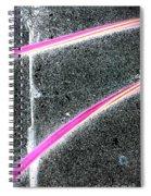 Summer Abstract Spiral Notebook