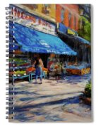 Summer Afternoon, Columbus Avenue Spiral Notebook
