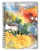Summer Afternoon Spiral Notebook