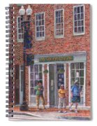 Summer Afternoon On M Street Spiral Notebook