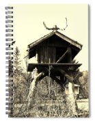Summer Alaskan Cache Spiral Notebook