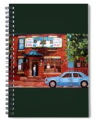 Summer At Fairmount Spiral Notebook