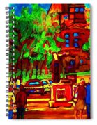 Summer At Mcgill University Spiral Notebook