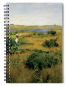 Summer At Shinnecock Hills Spiral Notebook