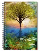 Summer At The Reef Spiral Notebook