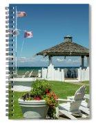 Summer At The Shore Spiral Notebook