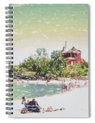 Summer Beach Sunshine Spiral Notebook