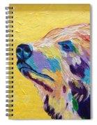 Summer Bear Spiral Notebook