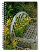 Summer Bench Spiral Notebook