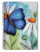 Summer Blue Spiral Notebook