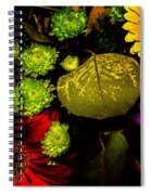 Summer Boquet Spiral Notebook