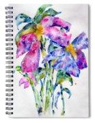 Summer Bouquet Spiral Notebook