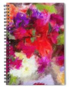 Summer Bouquet Spiral Notebook
