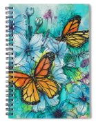 Summer Butterflies Spiral Notebook
