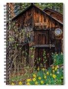 Summer Cabin Spiral Notebook