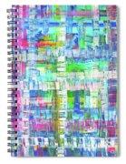 Summer Cloth Spiral Notebook