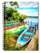 Summer Colors Spiral Notebook